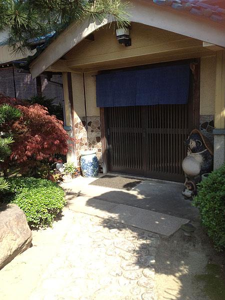 旧店舗(玄関)